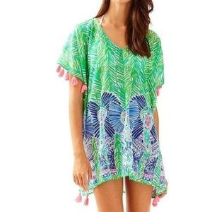 Lilly pulitzer Castilla cover up Costa verde NWT